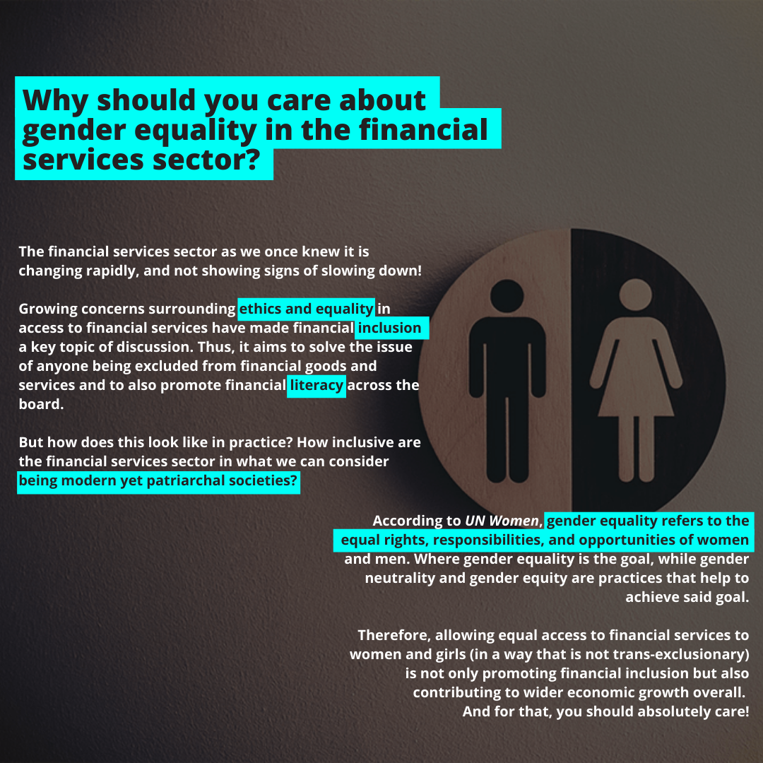 gender equality financial services